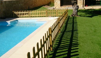 Decorate a garden with artificial grass: 4 models to consider