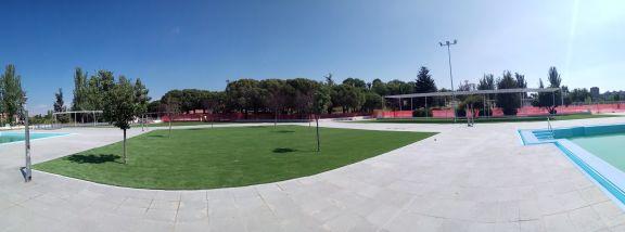 Sumigran artificial grass at Elipa Sports Center
