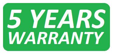 Période de garantie: 5 ans