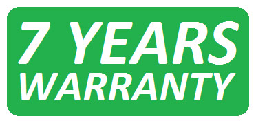 Warranty period: 7 years