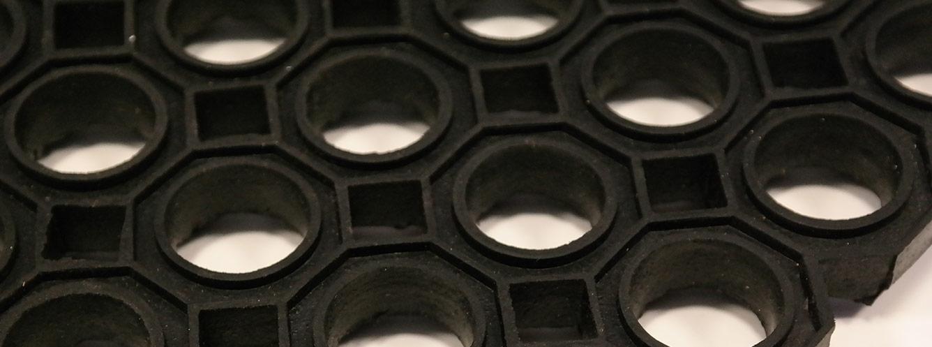 O-ring entrance mat