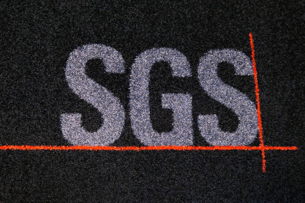 felpudo textil personalizable para sgs de sumigran