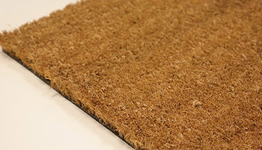PVC backed coir matting