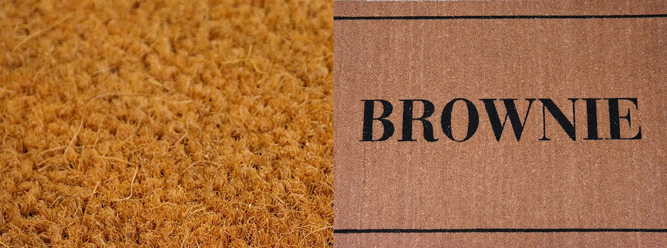 Coconut coir entrance mat range