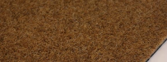 Synthetic coir entrance mat