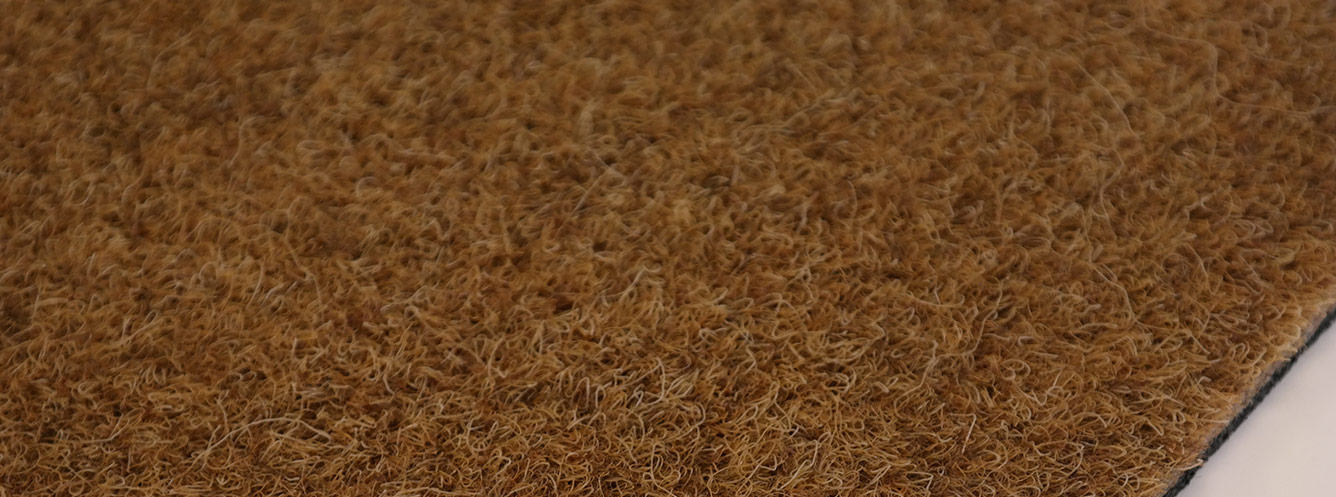 Synthetic coir entrance mat