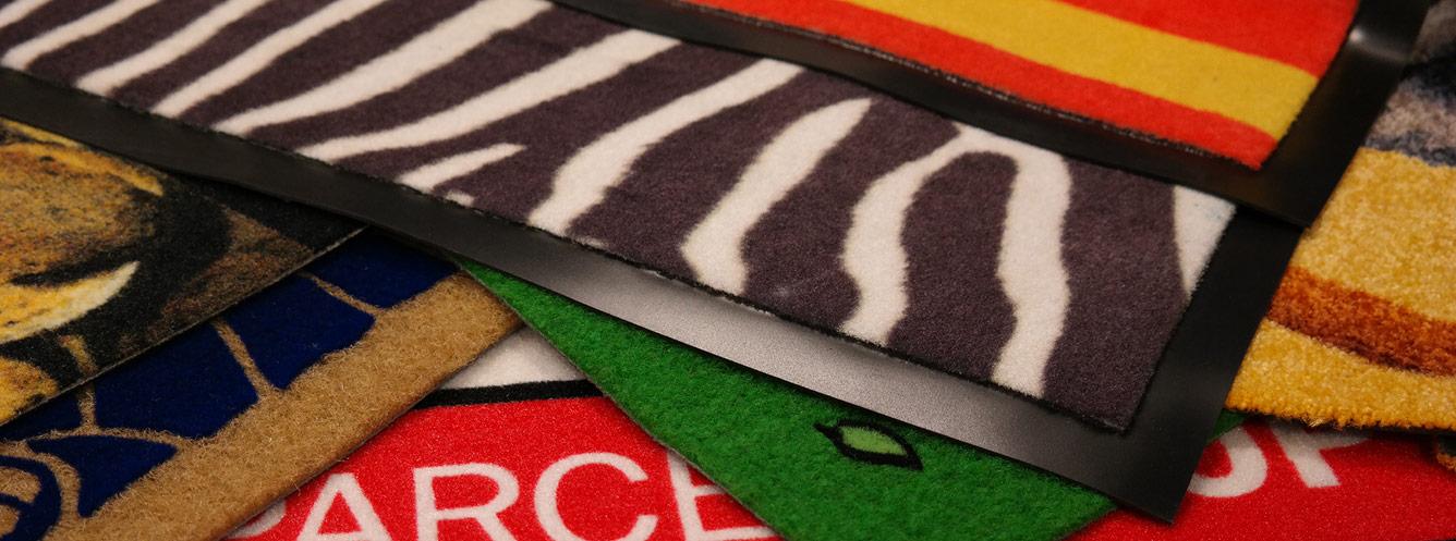 Customised logo mats