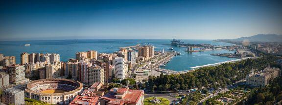 Césped artificial en Málaga