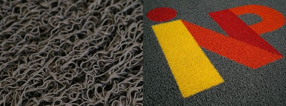 Vinyl-looped entrance mat range